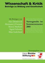 Wissenschaft & Kritik - GEW Landesverband Hessen