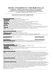 Rundschreiben Februar 2013 - Berliner Besucherring eV