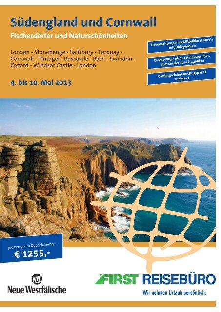 Reiseprospekt zum Download