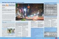 Komplettprogramm New York Marathon 2013 - Run New York