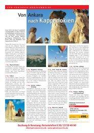 nach Kappadokien nach Kappadokien - SPD-ReiseService