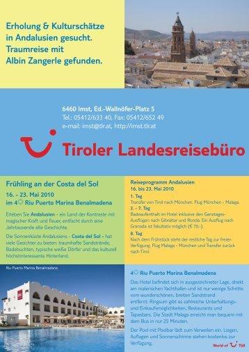 Erholung & Kulturschätze in Andalusien gesucht ... - TUI ReiseCenter