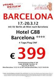 Hotel GBB Barcelona ****