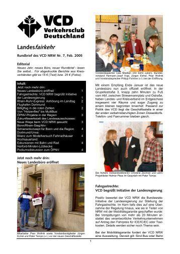 Landesrundbrief Februar 2005 - VCD