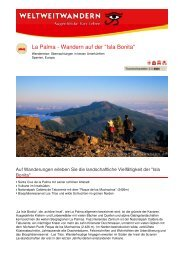 La Palma - Wandern auf der
