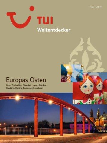 TUI - Weltentdecker: Europas Osten - Sommer 2010 - TUI.at