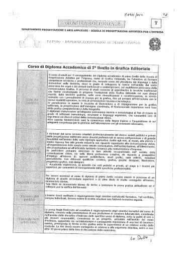 Grafica Editoriale - Accademia di Belle Arti di Roma