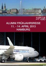 alumni frühjahrsreise 11. - 14. april 2013 hamburg - Alumni Club FH ...