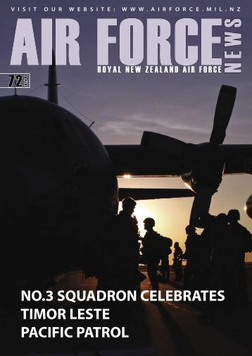 July 2006, Issue 72 [pdf 3.2mb, 44 - Royal New Zealand Air Force