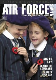 ANZAC DAY - Royal New Zealand Air Force