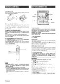 call toll free I-800-BUY-AIWA - How To & Troubleshooting - Page 6