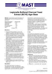 Legionella Buffered Charcoal Yeast Extract (BCYE) Agar Base