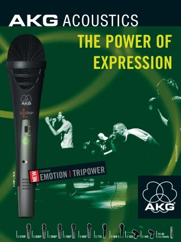 Emotion/Tripower brochure - AKG