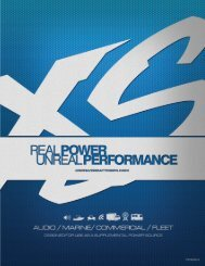 Brochure - XS Power