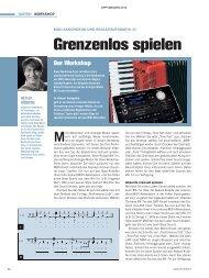 MIDI-Akkordeon und Begleitautomatik - MUSIC STORE professional