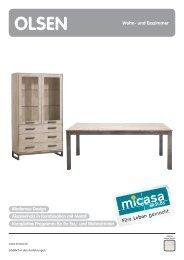Polstergruppen/Sessel Modernes Design Akazienholz in ... - Micasa