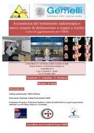 ProgrDef AITRO ROMA 2012 - Università Cattolica del Sacro Cuore