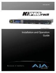 Aja Ki-Pro Manual.pdf - Stake5.be