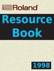 Roland Resource Book