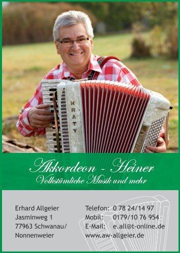 Akkordeon - Heiner Akkordeon - Heiner - auf Trickobelli.de