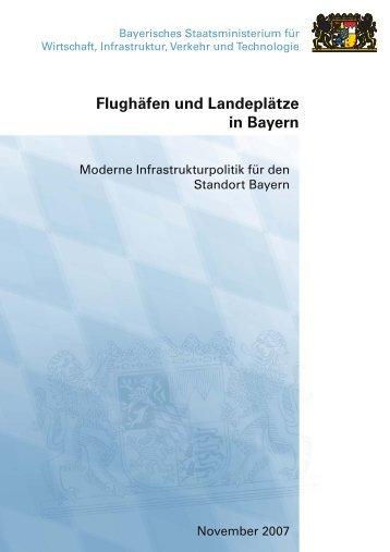 Flughäfen und Landeplätze in Bayern (Nov