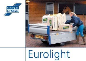 3 ifor williams eurolight for Raynor centura garage doors
