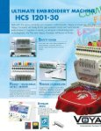 Happy Voyager HCS 1201-30 Single Head Embroidery Machine - Page 2