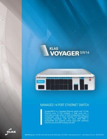 Klas Voyager SW14 brochure