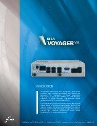 Klas Voyager VM brochure