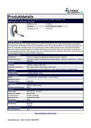 PLANTRONICS Voyager 510 USB Headset Bluetooth-Headset mit ...