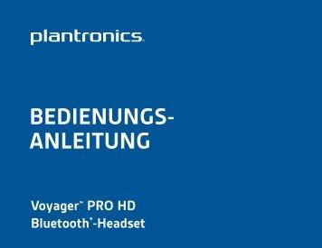 BEDIENUNGS- ANLEITUNG - Headset Direct Ltd. Headset Direct Ltd.