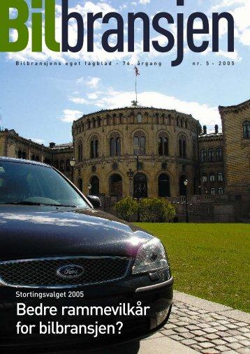 Blad n - Norges Bilbransjeforbund