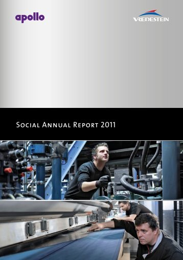 Social Annual Report 2011 - Vredestein
