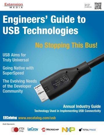 Engineers' Guide to USB Technologies - Subscribe