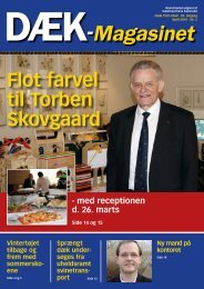 Flot farvel til Torben Skovgaard - Dækbranchens Fællesråd