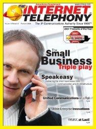 Advertising Supplement - Internet Telephony Magazine Issues 2011 ...
