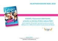 SELECTION KIDEXPO NOEL 2010 - cvip.fr
