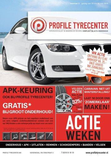 APK-KEURING - Profile Tyrecenter