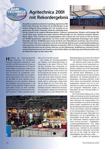 Agri Technica - Reifenpresse.de