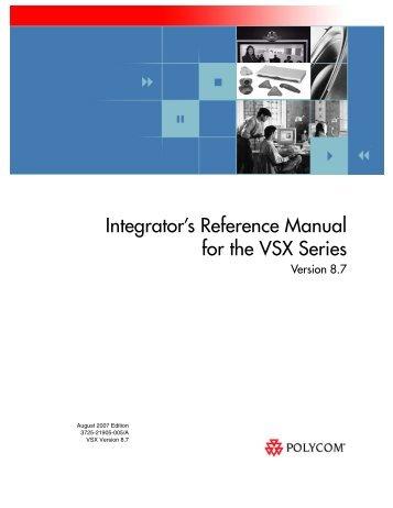 integrator s reference manual for polycom hdx systems rh yumpu com polycom hdx 9000 manual pdf Polycom Remote Manual