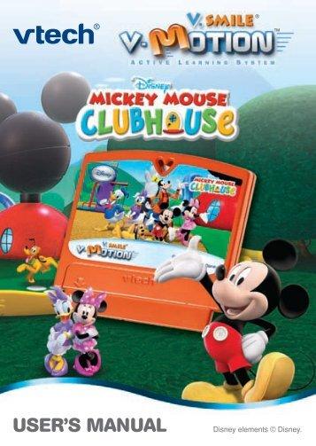 V.Smile V-Motion: Mickey Mouse Clubhouse - VTech