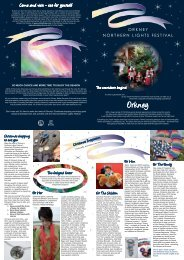 Northern Lights Festival Guide - Orkney