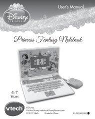 Princess Fantasy Notebook - VTech