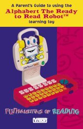 "Alphabert The Ready to Read Robotâ""¢ - VTech"