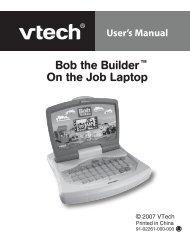 Bob the Builder Laptop - VTech