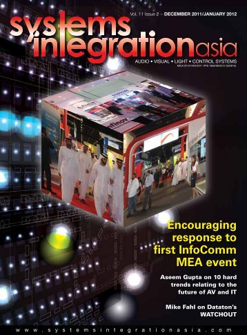 Encouraging response to first InfoComm MEA event - Systems ...