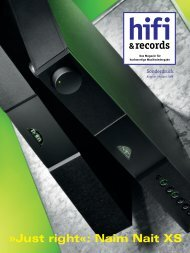 Just right«: Naim Nait XS - music line