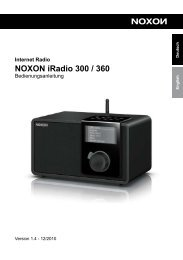 NOXON iRadio 300 / 360 - FTP Directory Listing - TERRATEC