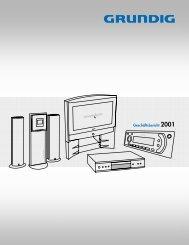Grundig_Geschäftsbericht 2001 - Grundig-info.de