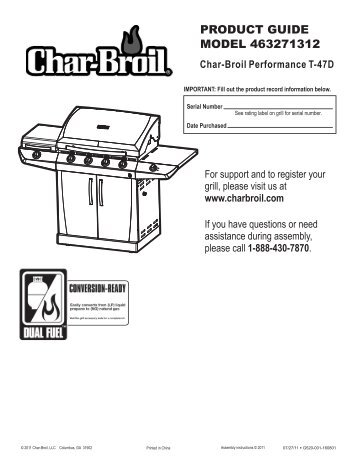 463271312 - English - Char-Broil Grills
